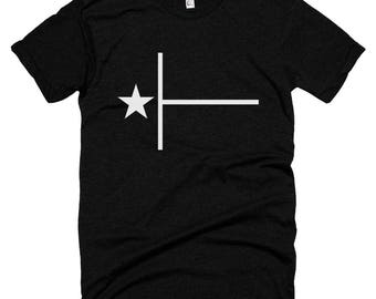 Minimal Texas Flag T-shirt