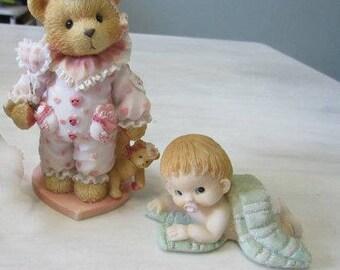 Vintage Baby Figurines,Boy Crawling, ,Cherished Teddy figurine Jilly,156477   263
