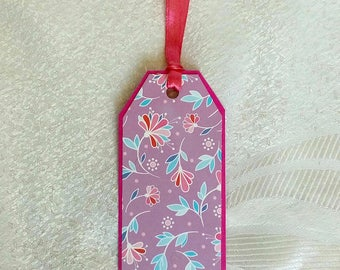 Shabby Chic Gift Tags, Pink Party Favor Tags, Wedding Tree Tags, Wish Tree