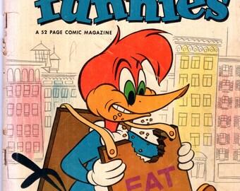 Walter Lantz New Funnies Comic Book #201 Dell 1953 G/VG 3.0
