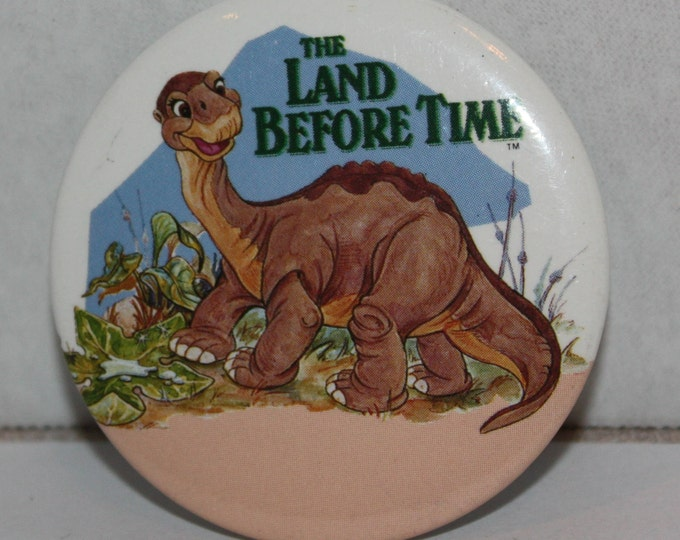 The Land Before Time Movie Littlefoot 1988 Pinback Button
