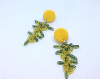 Wattle dangle studs