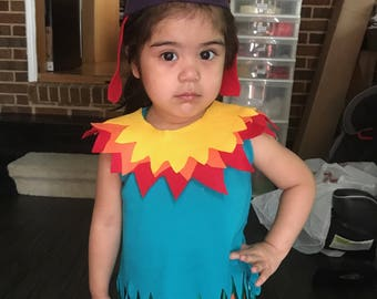 Moana Hei Hei (HeiHei) Rooster/Chicken Costume for Infants, Toddlers, Kids, or Adults