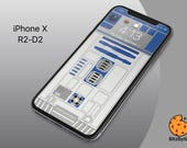 R2-D2 Starwars - iPhone X Background Wallpaper - mobile cell phone personalize lockscreen background - Ringtone