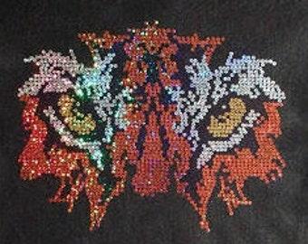 Tiger Eyes Sequins Shirt