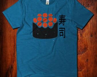 Sushi TShirt, Funny Graphic Tshirt, Japanese Shirt, Sushi Roe, Sushi Roll Tshirt, Japanese Food, Sushi Rolls, Kawaii Sushi, Sushi Shirt