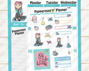 It's Ok To Take A Break --- Planner Stickers --- 636
