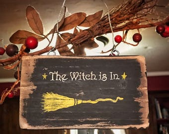 Witch sign / Halloween home decor / Halloween decor / Halloween signs / Wicca / Wiccan / Witches / Halloween decorations / Easter Gifts