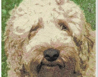 Embroidered Art - Barney