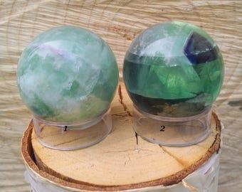 """1.5"""" Fluorite Sphere"""