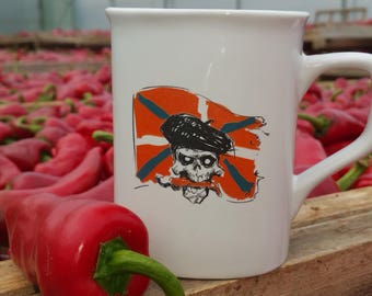 Mug from basque country