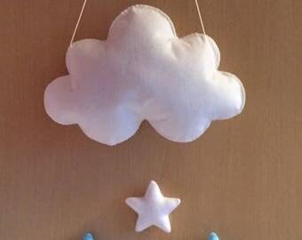 Cinderella Cloud Wall Hanging