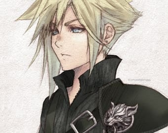 Cloud Strife Print
