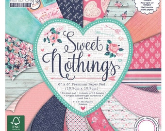 Sweet Nothings Paper Pad