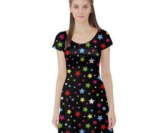 Dipp Dress - Katamari Short Sleeve Dress Katamari Cousins Dress Cosplay Dress Katamari Damacy Plus Size Dress Video Game Dress Ichigo Dipp