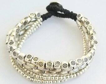 Bali Silver Alloy Bracelets