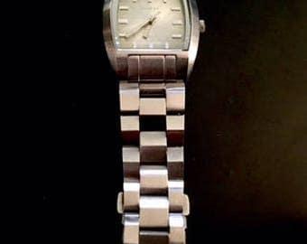Silver-Tone Diesel Watch