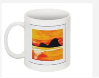 Orange Skies Mug