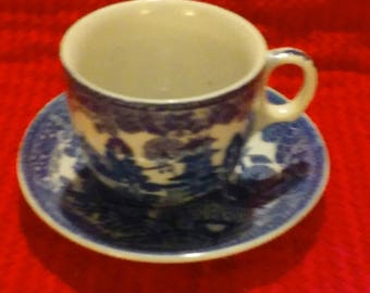 A Blue Willow Set From The Early 1960's!