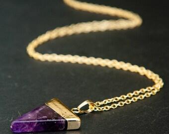 amethyst necklace, amethyst pendant, amethyst jewelry, crystal necklace, amethyst crystal, amethyst stone, amethyst, amethyst point