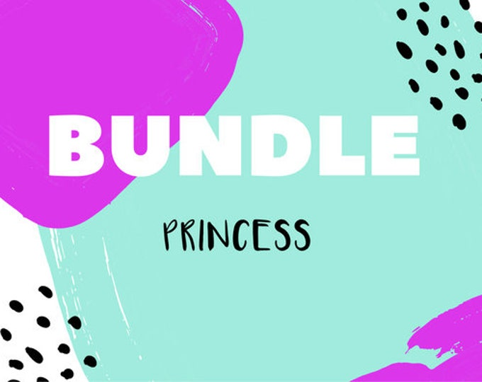The 'Princess' Earring Studs Gift Bundle
