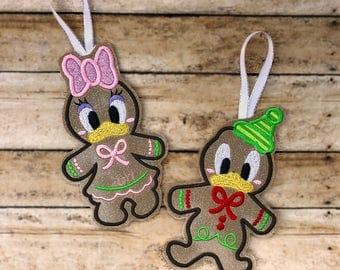 Duck Christmas Ornament, Kids Name Ornament, Custom Kids Ornament, Christmas Tree Decor, Christmas Ornament , Boys Girls Christmas Decor