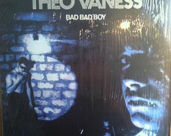 Theo Vaness Bad Bad Boy Vinyl Disco Record Album