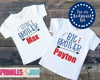 Big Brother Little Brother, Brother Shirts, Big Brother Little Brother Set, Big Brother Out, Sibling Shirt Set