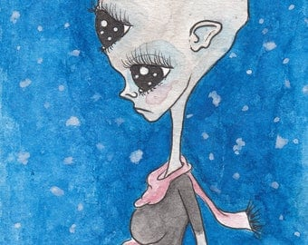 Chilly Alien