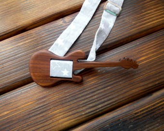 Wood bowtie  Guitar Wedding Bow Tie Wood anniversary gift Brother gift Boyfriend gift Rock star gift Wooden bowtie Bowtie men Musician