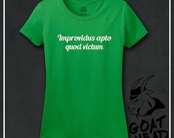 Positive Vibes, Improv Shirt, Fresh Start, Philosophy, Latin, Wellness, New Beginnings, Self Help, Inspirational, Motivational, Rebirth