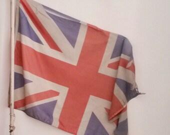 Flag, Union Jack, Flag Banner, Great Britain, UK Flag, Vintage English Flag