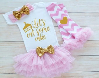 Birthday Girl Bodysuit, Baby Girl Outfit, Birthday Cake Shirt, Cake Smash Outfit, Girls First Birthday Outfit, Baby Girl Birthday Outfit