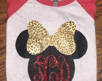Leopard Minnie Mouse