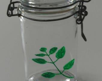 Spice jar - range Spice - jar for storing Basil
