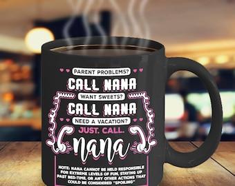 Nana Coffee Mug - Funny Gift for Nana - Grandparents Coffee Mug - Funny Gift for Grandparents - Grandma Coffee Mug