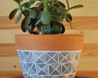 Handmade Mosaic Planter
