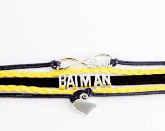 Batman Inspired Bracelet