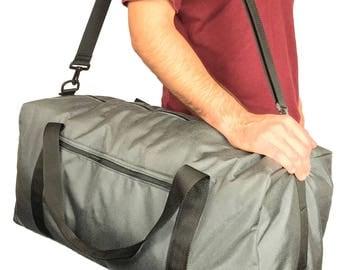 "Large 24"" Rectangular Duffel bag with 1000 Denier Cordura Nylon (Handmade In California)"