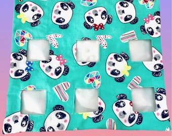 Made to Order Panda Hay Bag! For Guinea Pigs, Rabbits, Small Animals!