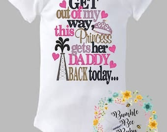 Oil Rig Daddy, Princess, Daddys Girl - Super Cute and Sure To Make Daddy Proud!