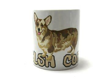 Welsh Corgi Mug, Corgi Dog, Welsh Corgi Gifts.