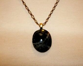 Picasso Stone Cabochon Necklace