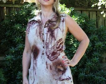 Women's zombie dress costume