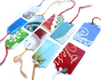 Upcycled Holiday Gift Tags