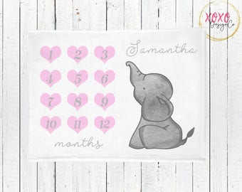Pink And Grey Elephant Baby Shower / Pink And Gray Nursery Bedding / Elephant Baby Shower Girl / Elephant Baby Shower Gift / Elephant Baby