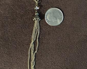 """Tassel Chain Necklace 20"""""""