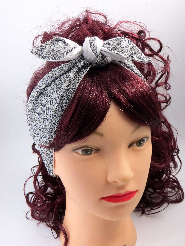 Pin Up Headband50s Style HairHeadband Retro 50sPin Up Style