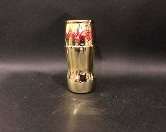 Coke Bottle Candle Coca-Cola Candle 12oz Gold Bottle. Soy Candle.Made To Order !!!!!