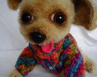 Amigurumi, Handmade Toy, Crochet, Dog, Chihuahua